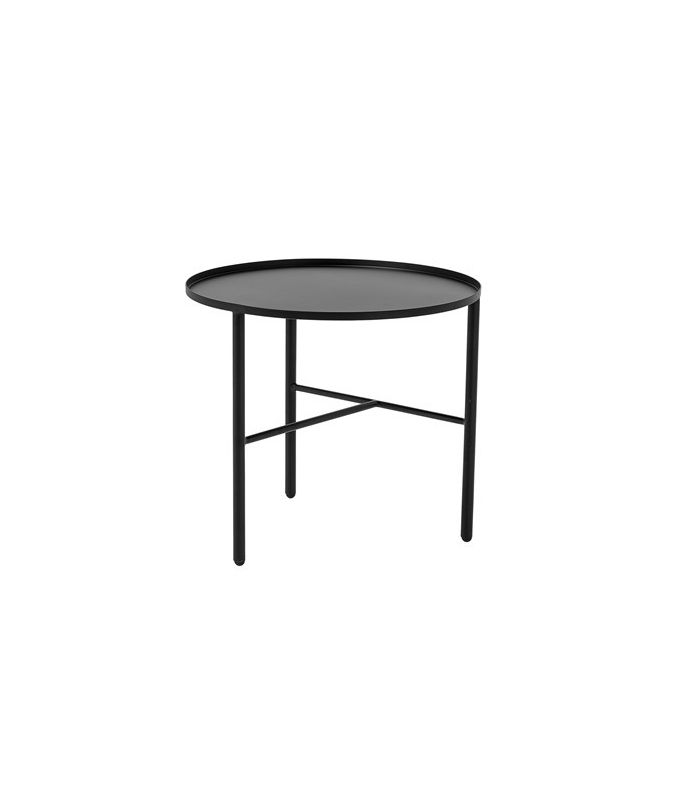 Frenchrosa - Table basse noire mat Bloomingville
