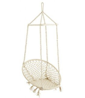 Chaise suspendue swing naturel Madam Stoltz