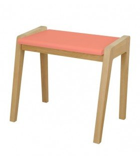 Tabouret My great pupitre blanc