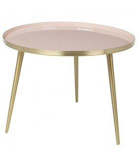 Table Jelva cream tan Broste Copenhagen
