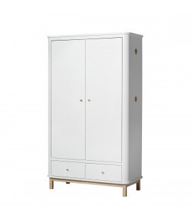 Armoire Wood 2 portes Oliver Furniture