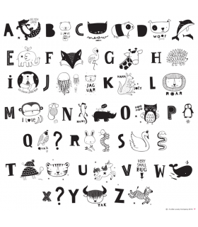 Lettres animaux ABC A Little Lovely Compagny