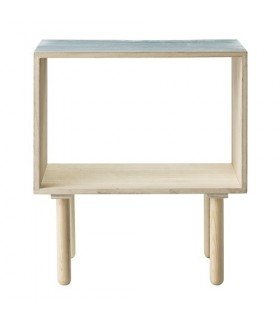 Table de chevet Bois Bleue