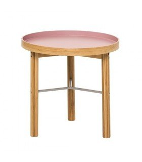 Table d'appoint Rose Bois Bloomingville