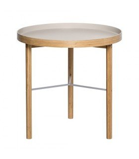 Table d'appoint Grise Bois