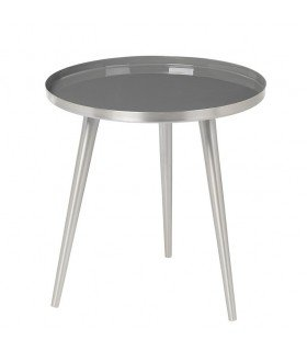 Coffee table silver gray Jelva BROSTE COPENHAGEN