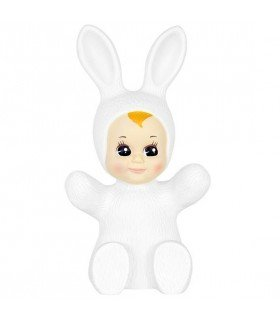 Baby Bunny nude red balloon lamp