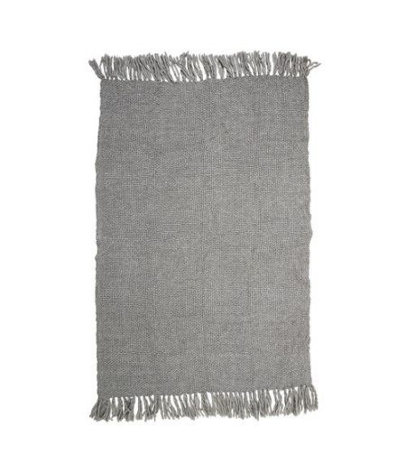 Plaid lainage gris Bloomingville