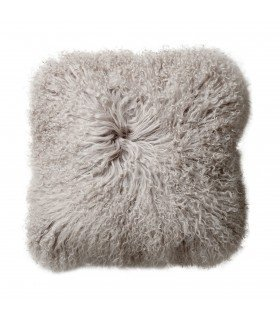 Square cushion nude lamb fur BLOOMINGVILLE