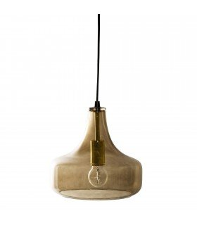 Frenchrosa - Suspension Brown verre Bloomingville