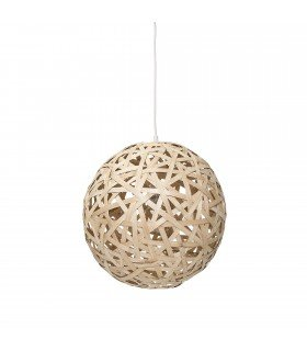 Suspension boule bambou Bloomingville