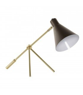 Hbsch brass lamp black lamp