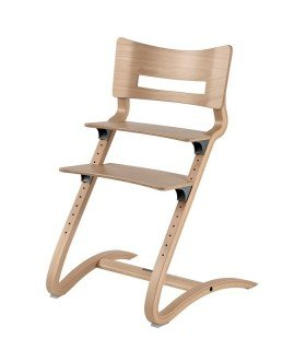 High white chair Volutive LEANDER