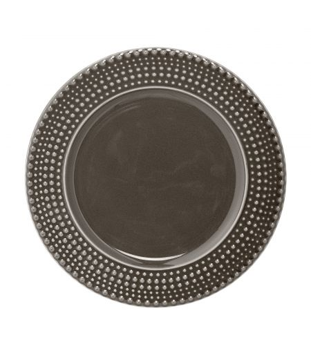 Assiette Anna marron Bloomingville X6