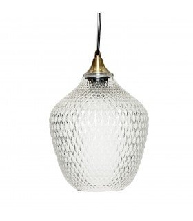 Suspension boule marron Bloomingville