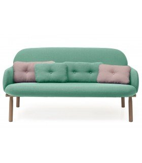 George Hart armchair green water