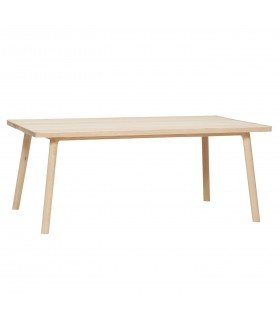 Table oak 150x65xh76cm Hubsch