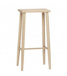 Tabouret de bar rectangulaire Hübsch