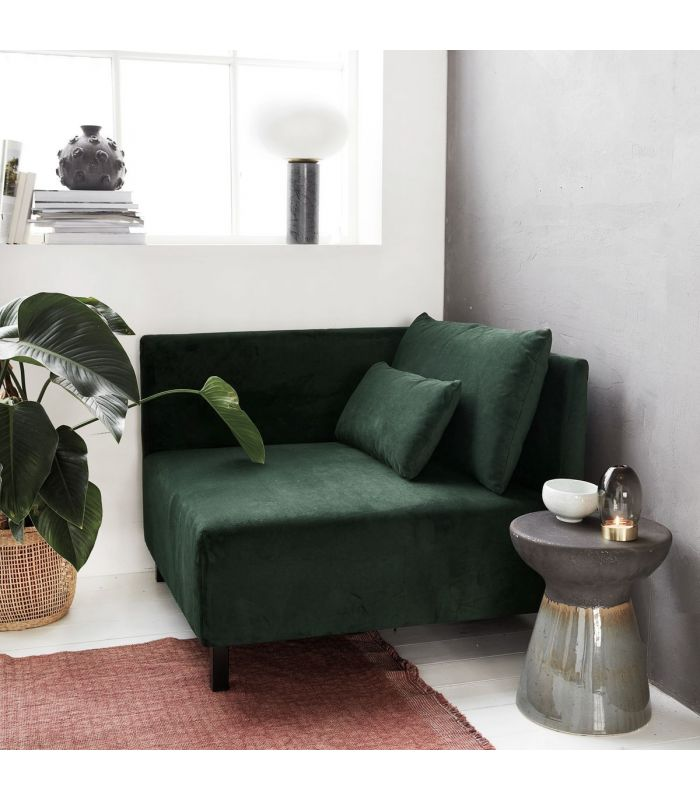 canap vert b luga avec accoudoirs house doctor. Black Bedroom Furniture Sets. Home Design Ideas