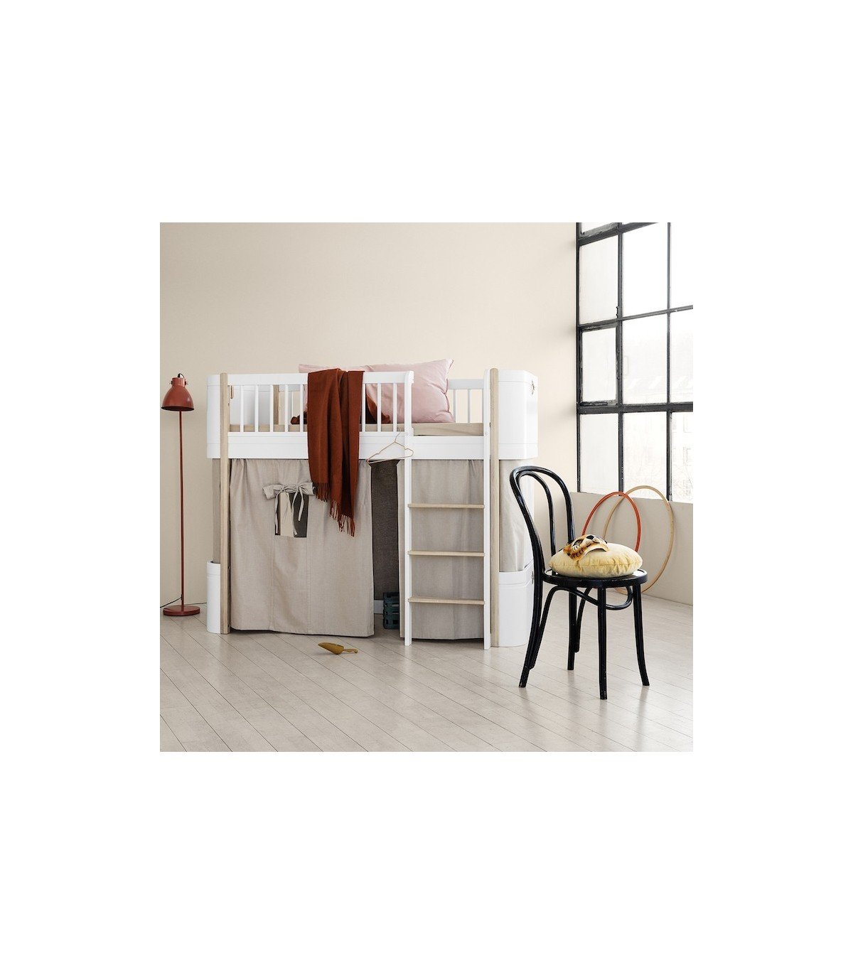Lit volutif mini oliver furniture for Lit evolutif
