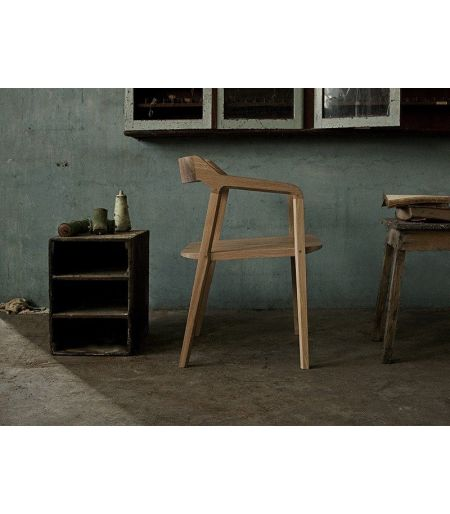 Chair Kundera oak Wewood