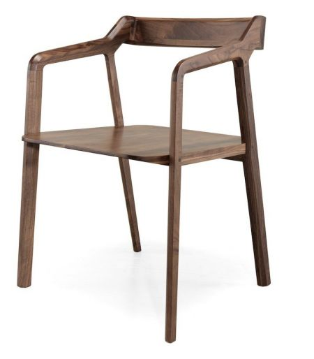 Chair Kundera walnut Wewood