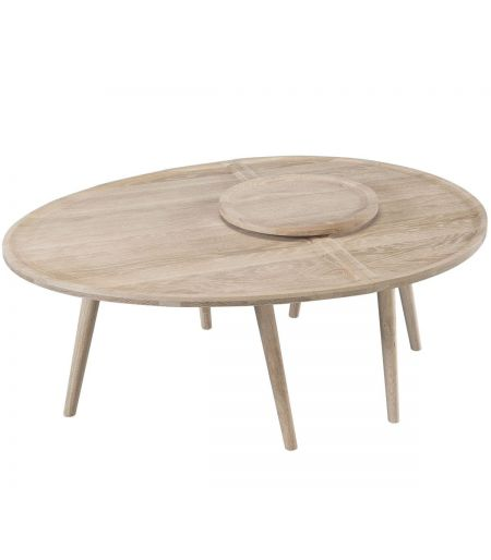 Table basse Colombo chêne Wewood