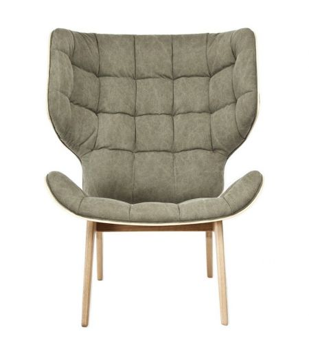 Chair Mammoth green Norr11