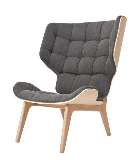 Fauteuil Mammoth gris Norr11