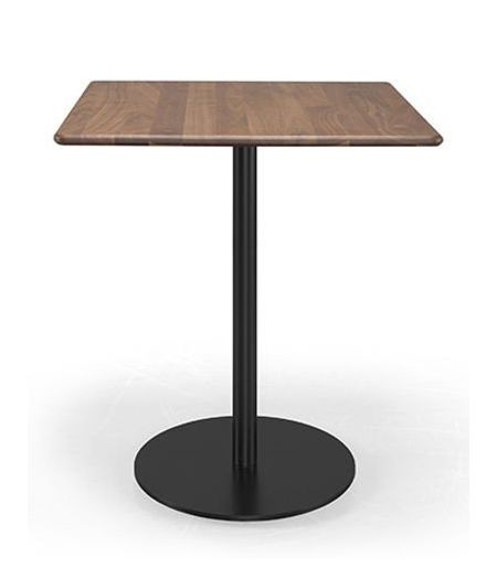 Table square bistrô walnut Wewood