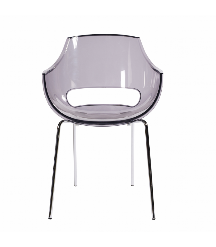 chaises en plastique transparent maison design