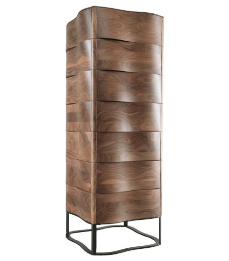 Storage cabinet-Touch, walnut Wewood