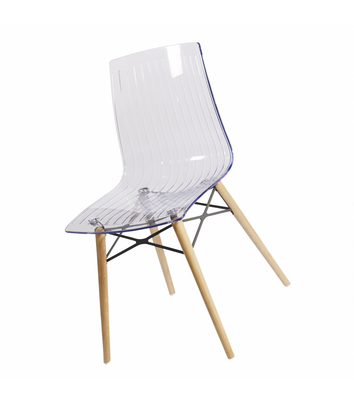 Chaises en plastique transparent chaises en plastique transparent maison design chaise en - Tabouret de bar plexiglas transparent ...