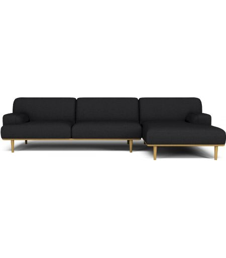 copy of Canapé Madison 2 places anthracite noyer Bolia