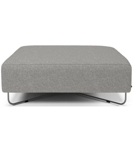 Orlando pouf light grey Bolia