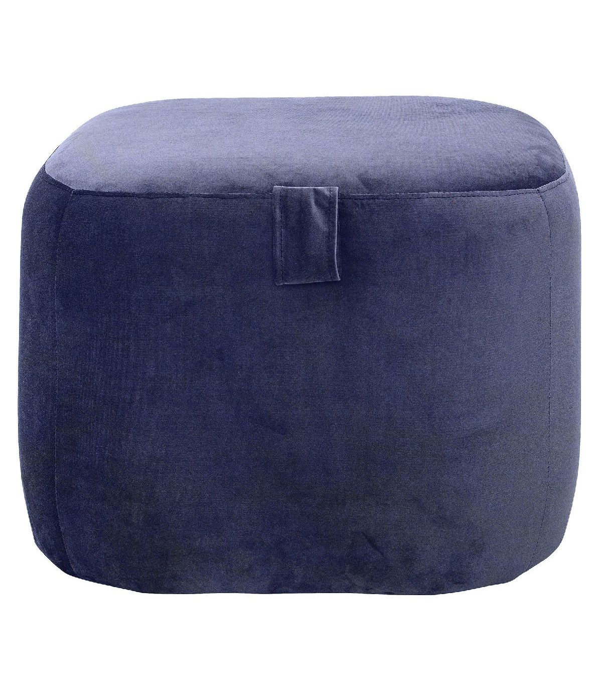 pouf bella bleu bloomingville. Black Bedroom Furniture Sets. Home Design Ideas