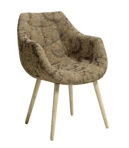 Chair sandy flowers patterns Nordal