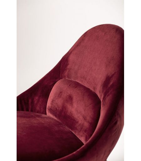 Fauteuil Dawn rouge Bloomingville