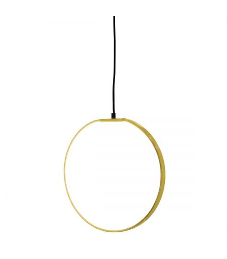 Suspension cercle Gold Bloomingville