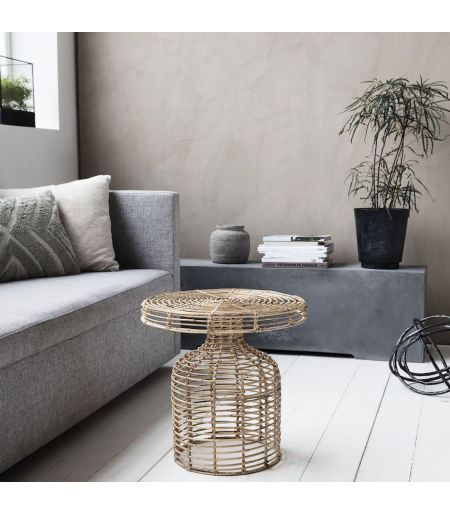 Side Table rattan House Doctor