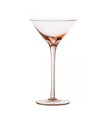 Verre à cocktail rose Bloomingville X6