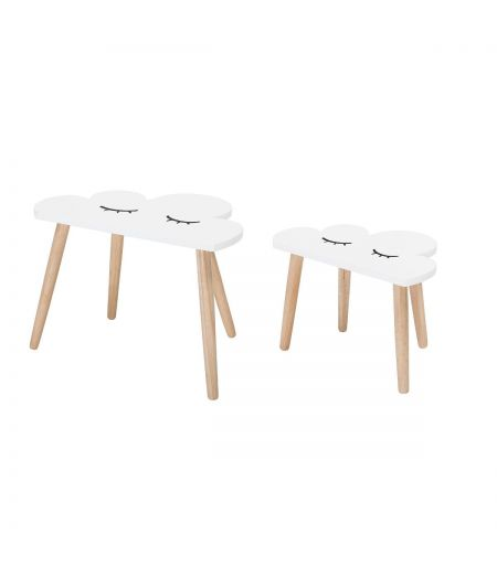 Table low Cloud Bloomingville (set of 2)