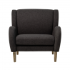 Armchair Chill dark gray BLOOMINGVILLE