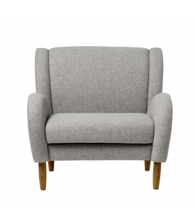 Armchair dark gray Chill