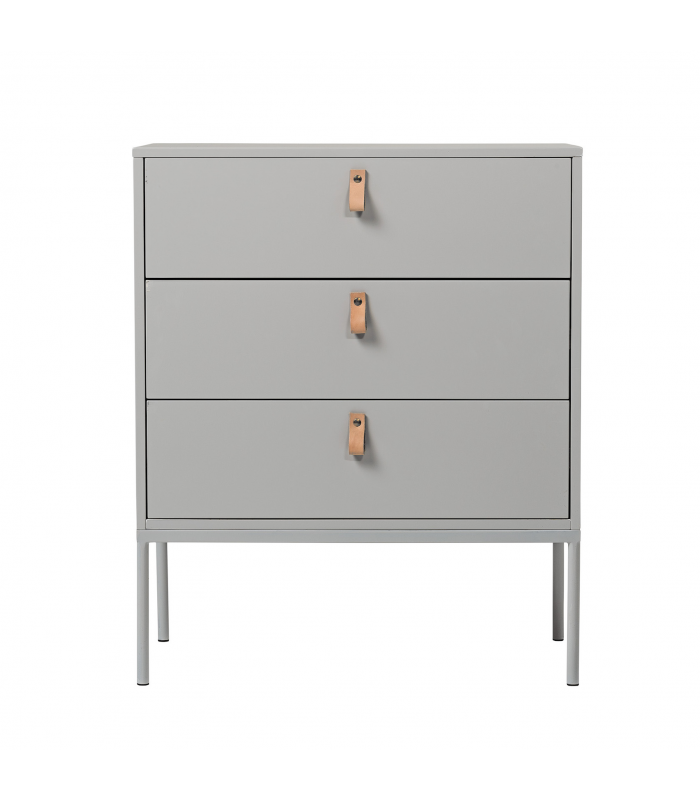Commode gris clair Bloomingville