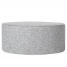 Pouf light gray XXL BLOOMINGVILLE