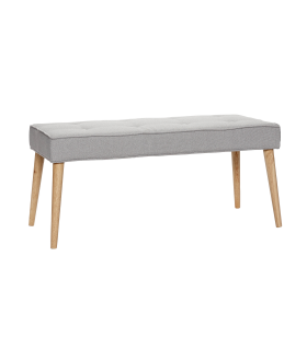 Light gray bench Hbsch