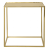 Gold cube table BLOOMINGVILLE