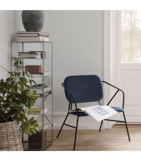Chaise grise Klever House Doctor