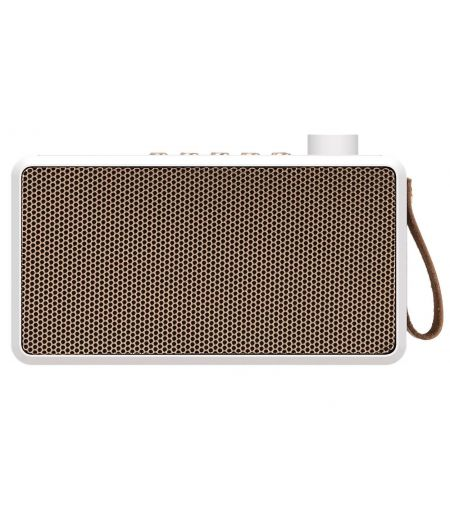 Tradio blanche bluetooth Kreafunk